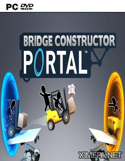 постер игры Скачать игру Bridge Constructor Portal