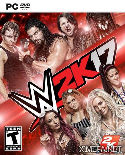 постер игры WWE 2K17