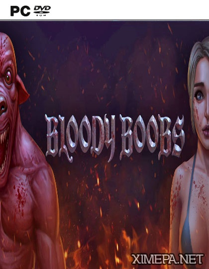постер игры Bloody Boobs
