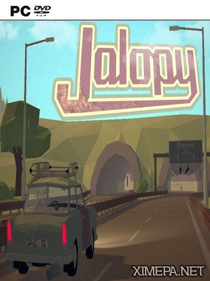 постери игры Jalopy