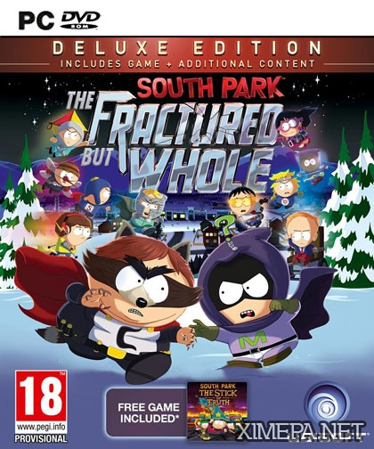постер игры South Park: The Fractured But Whole