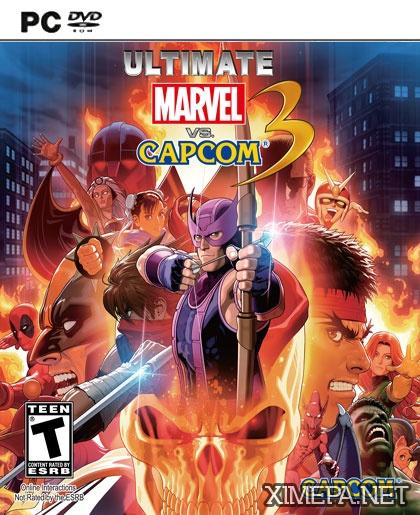 постер игры Ultimate Marvel vs. Capcom 3