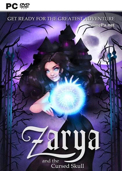 постер игры Zarya and the Cursed Skull