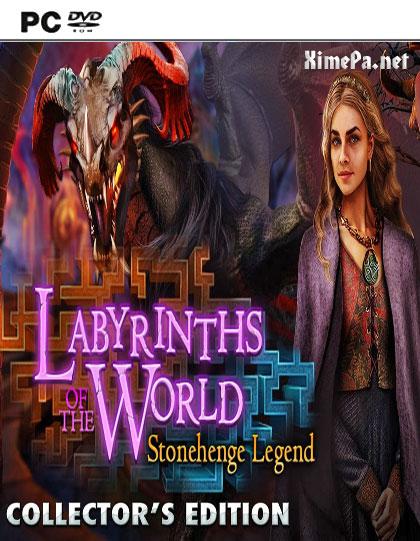 постер игры Лабиринты Мира 4: Легенда Стоунхенджа