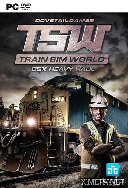 постер игры Train Sim World: CSX Heavy Haul