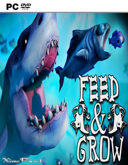 постер игры Feed and Grow: Fish