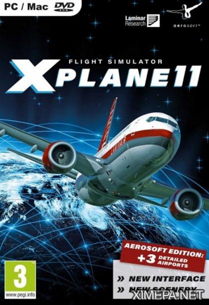 постер игры X-Plane 11: Global Scenery