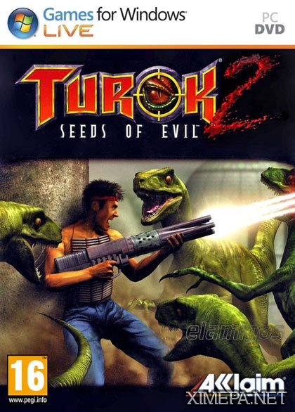 постер игры Turok 2: Seeds of Evil Remastered