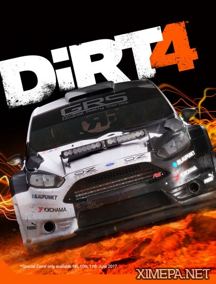 постер игры Dirt 4