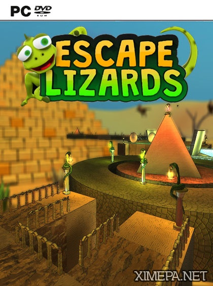 постер игры Escape Lizards