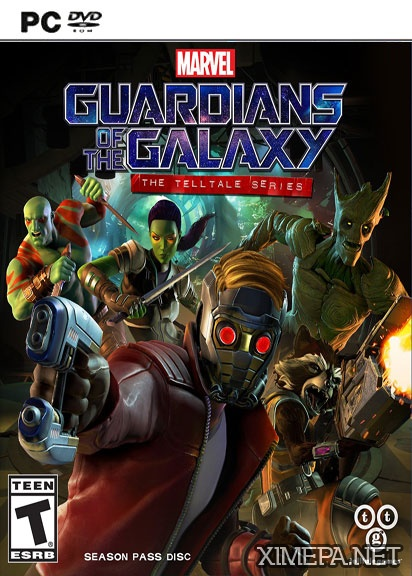 постер игры Marvel's Guardians of the Galaxy: The Telltale Series