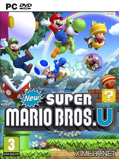 постер игры New Super Mario Bros U