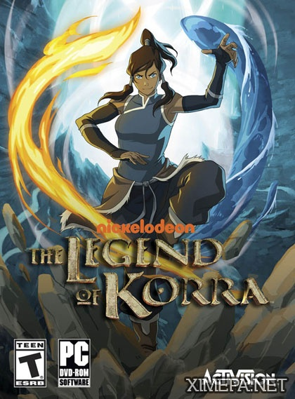постер игры The Legend of Korra