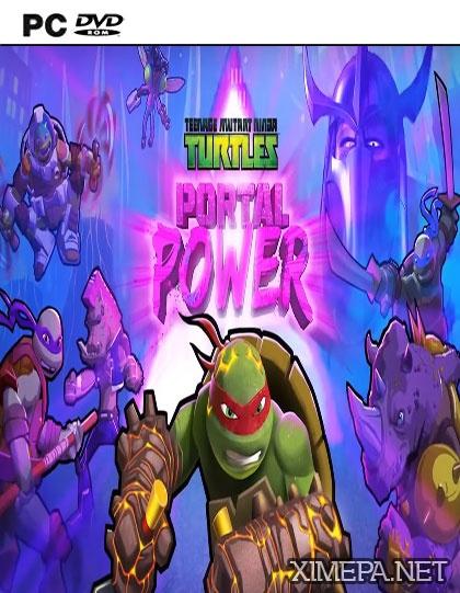 постер игры Teenage Mutant Ninja Turtles: Portal Power