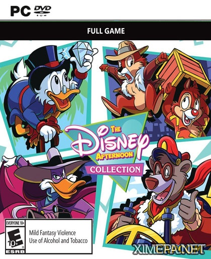 постер игры The Disney Afternoon Collection