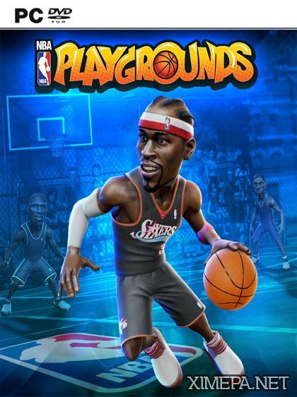 постер зрелище NBA Playgrounds