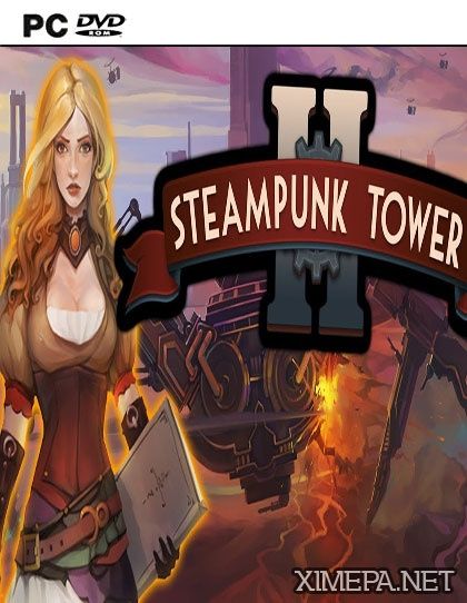 постер игры Steampunk Tower 2