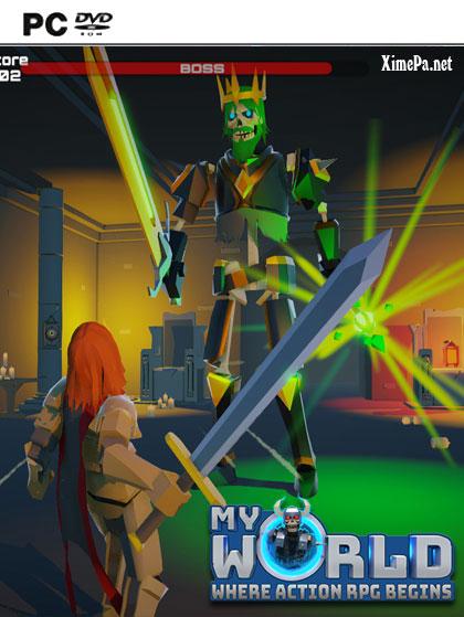 постер игры MyWorld - Action RPG Maker