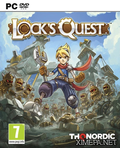 постер игры Lock's Quest