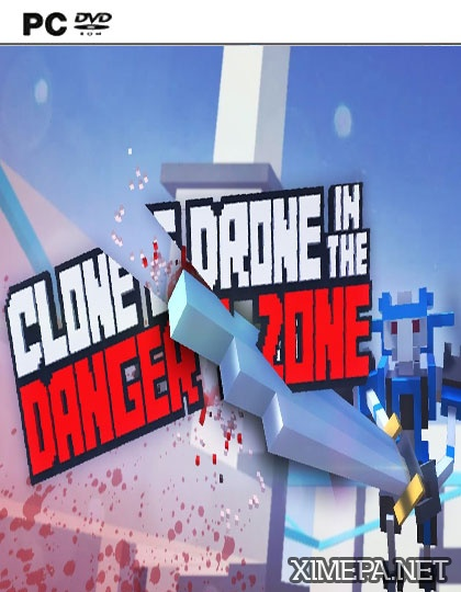 постер игры Clone Drone in the Danger Zone