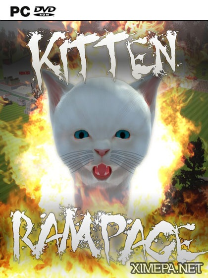 постер игры Kitten Rampage