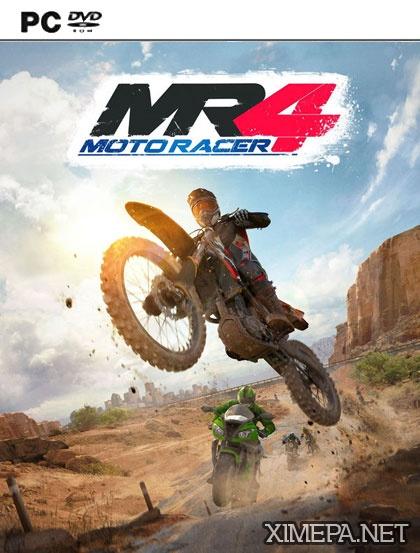 постер игры Moto Racer 4