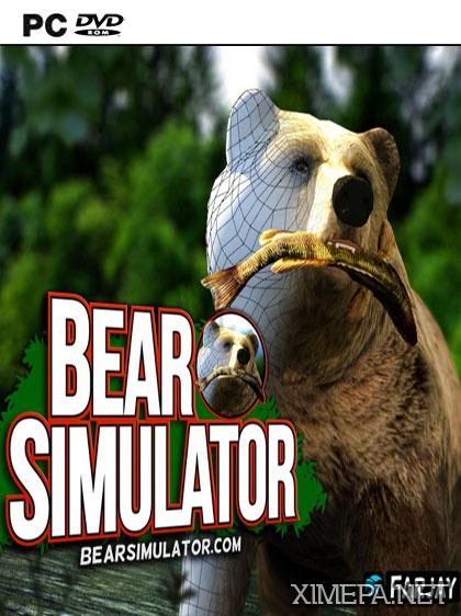 постер игры Bear Simulator \ Симулятор медведя