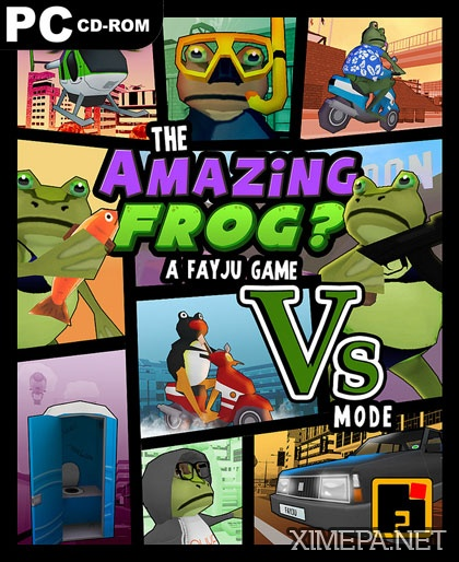 постер игры Amazing Frog
