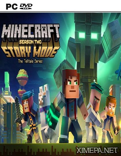 постер игры Minecraft: Story Mode - Season Two