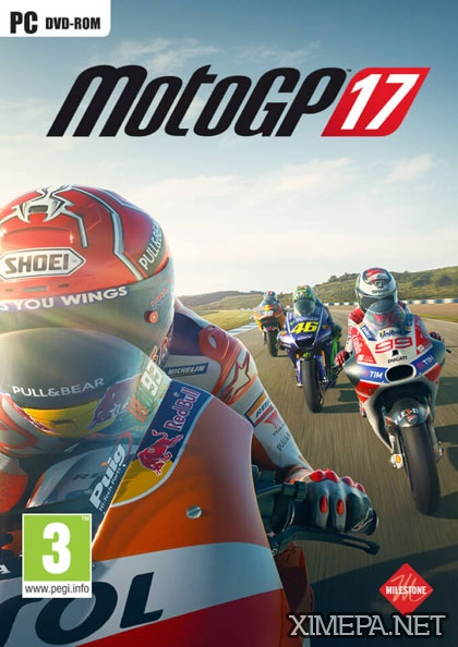постер игры MotoGP 17
