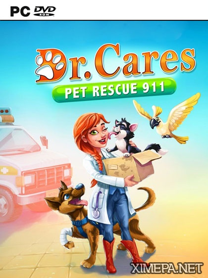 постер игры Dr. Cares Pet Rescue 911