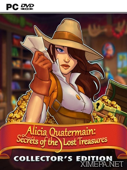 постер игры Алисия Квотермейн: Тайна потерянных сокровищ