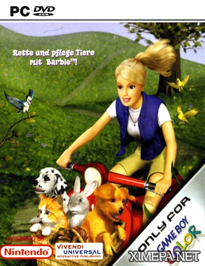 постер игры Barbie Pet Rescue
