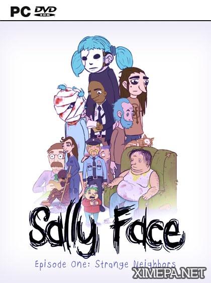 постер зрелище Sally Face