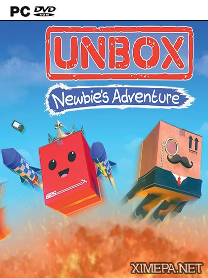 постер игры Unbox: Newbie's Adventure