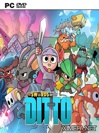 постер игры The Swords of Ditto