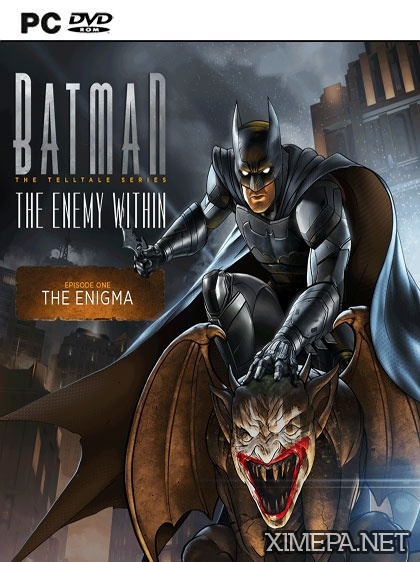 постер зрелище Batman: The Enemy Within