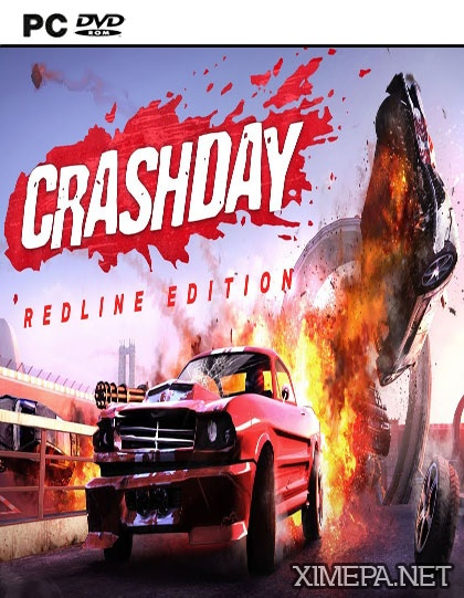постер игры Crashday Redline Edition