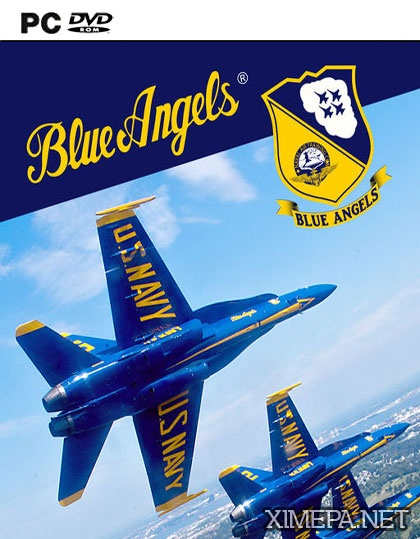 постер игры Blue Angels Aerobatic Flight Simulator
