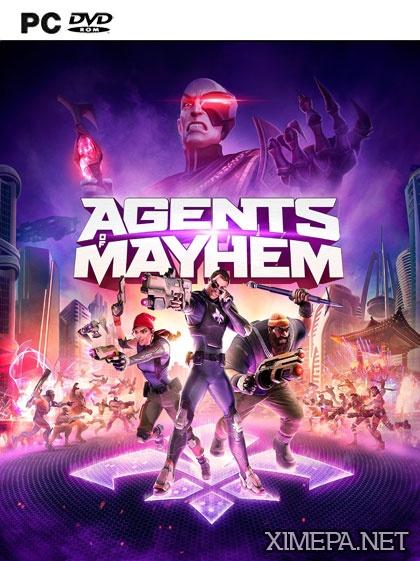 постер игры Agents of Mayhem