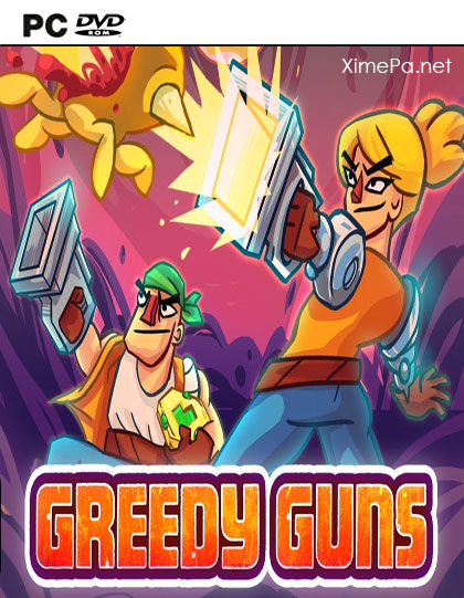 постер игры Greedy Guns