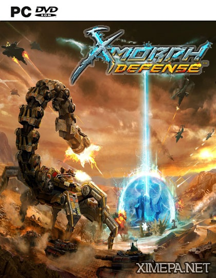 постер игры X-Morph: Defense