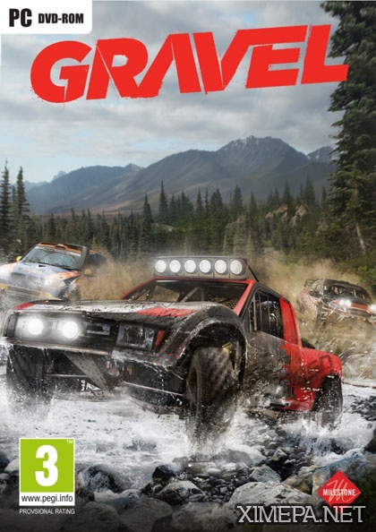постер игры Gravel