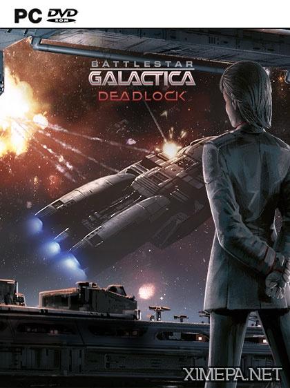 постер игры Battlestar Galactica Deadlock