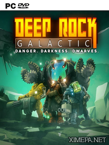 постер игры Deep Rock Galactic