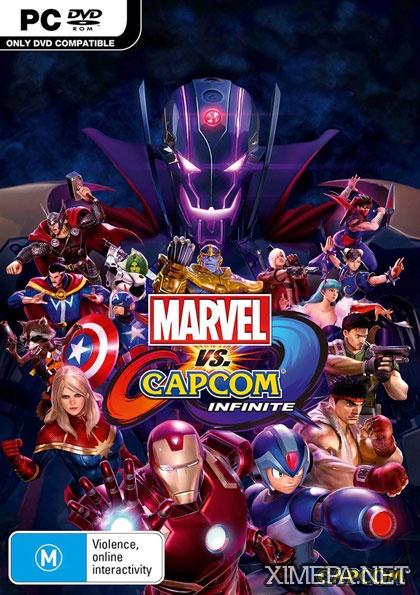 постер игры Marvel vs. Capcom: Infinite