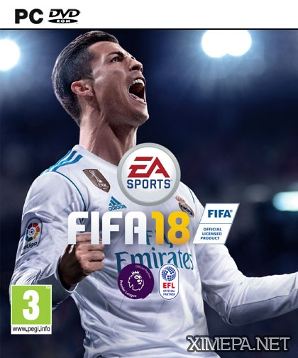 постер игры FIFA 18