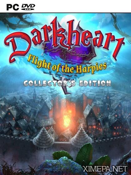 постер игры Темное Сердце: Полет гарпий