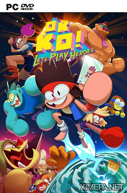 постер игры OK K.O.! Let's Play Heroes
