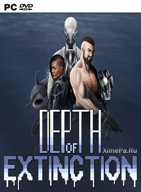 постер игры Depth of Extinction